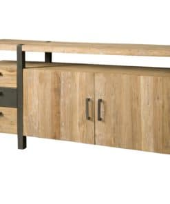 Massief teakhouten dressoir.